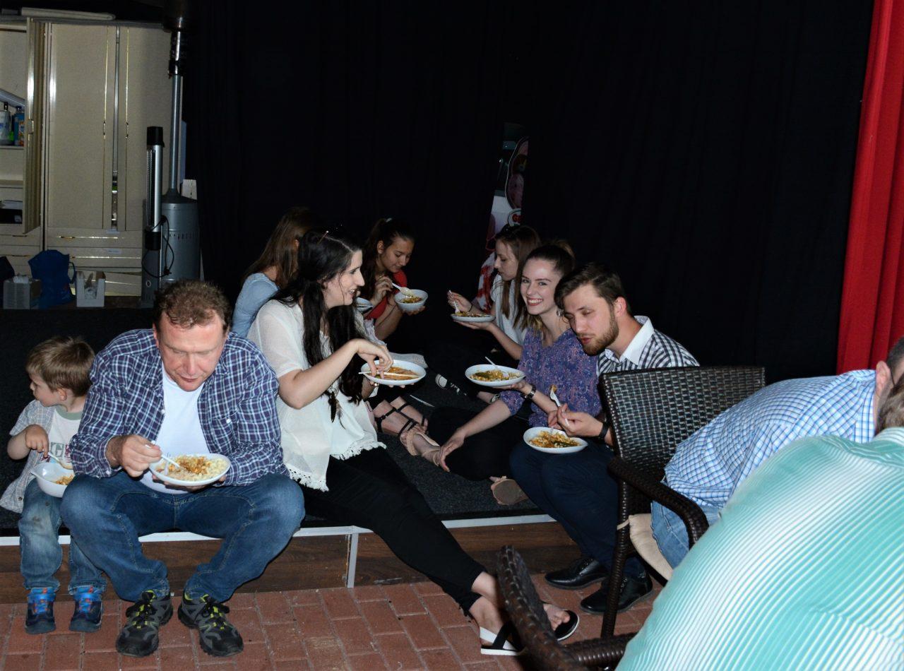 2018. április 29. – Közös ebéd a gyülekezetben